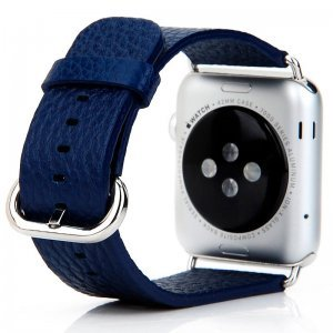 Ремешок для Apple Watch 42/44 мм - Coteetci W1 синий