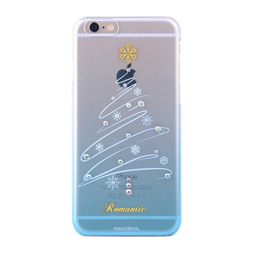 Чехол-накладка для Apple iPhone 6/6S - Kingxbar Christmas Romantic голубой