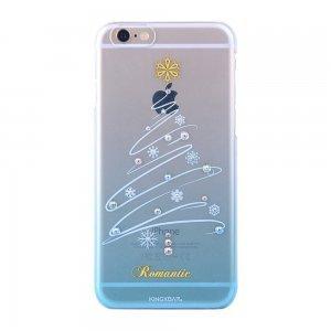 Чохол-накладка для Apple iPhone 6 / 6S - Kingxbar Christmas Romantic блакитний