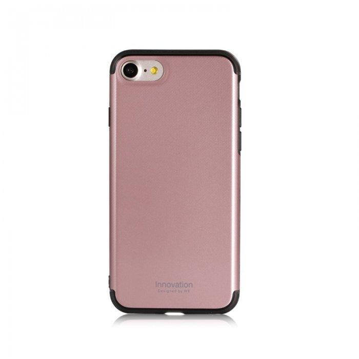 Пластиковый чехол WK Roxy розовый для iPhone 8 Plus/7 Plus
