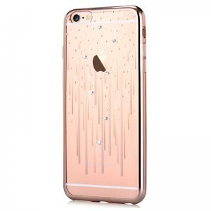 Чехол-накладка для Apple iPhone 6/6S - Devia Crystal Meteor золотистый