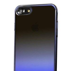 Полупрозрачный чехол Baseus Glaze чёрный для iPhone 8/7