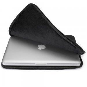 "Чехол-карман для Apple MacBook Air 11""/ MacBook 12"" - Runetz Soft Sleeve чёрный"