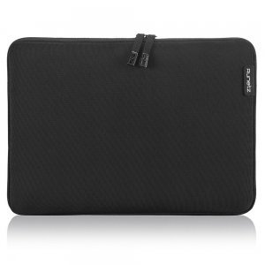 "Чехол-карман для Apple MacBook Air 11""/ MacBook 12"" - Runetz Soft Sleeve чёрный"