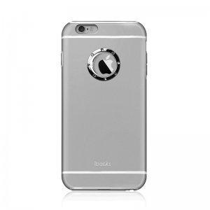 Чехол со стразами iBacks Armour Crystal Cartier серый для iPhone 6/6S