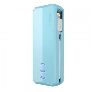 Внешний аккумулятор iWalk Supreme 3000L голубой