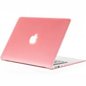 "Чехол-накладка для Apple MacBook Air 13"" - Kuzy Rubberized Hard Case розовый"