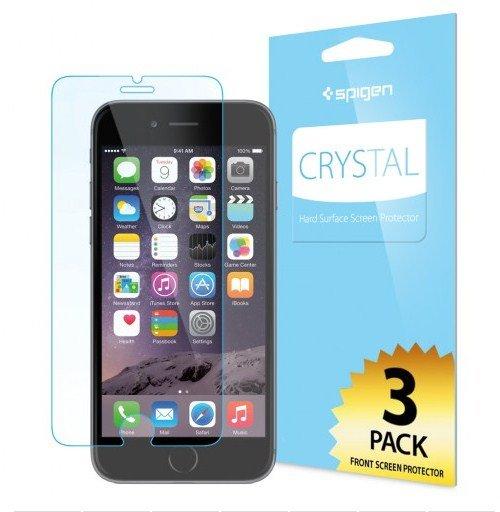 Набор защитных пленок для Apple iPhone 6 - SGP Crystal глянцевый
