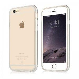 Чохол Baseus Golden прозорий для iPhone 6 Plus / 6S Plus (уцінка)