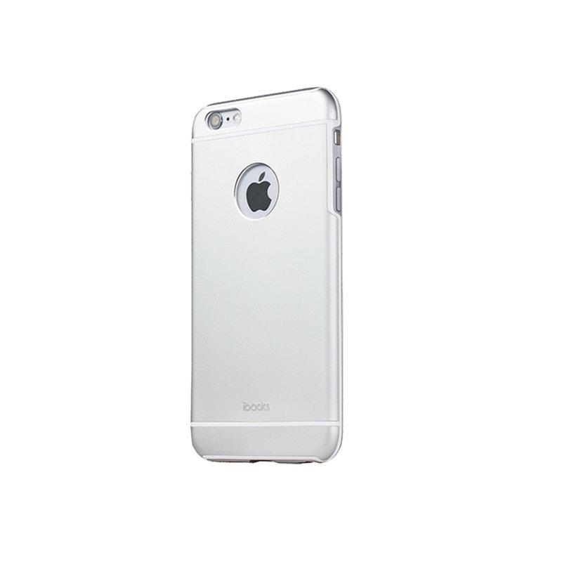 Защитный чехол iBacks Armour серебристый для iPhone 6/6S