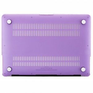 "Чехол-накладка для Apple MacBook Air 11"" - Kuzy Rubberized Hard Case фиолетовый"
