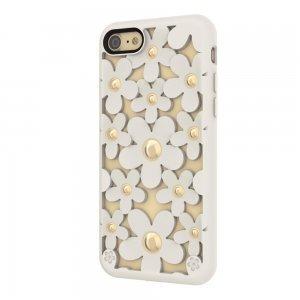 3D чехол SwitchEasy Fleur белый для iPhone 7