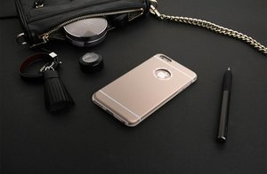 Чехол со стразами iBacks Armour Diamond Cartier золотой для iPhone 6/6S