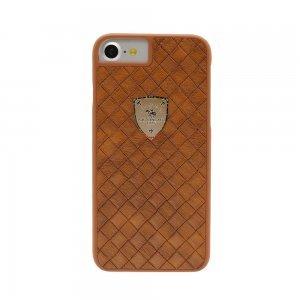 Кожаный чехол Polo Fyrste коричневый для iPhone 8 Plus/7 Plus