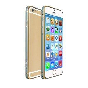 Чехол-бампер Cotєetcl Aluminum серый для iPhone 6/6S