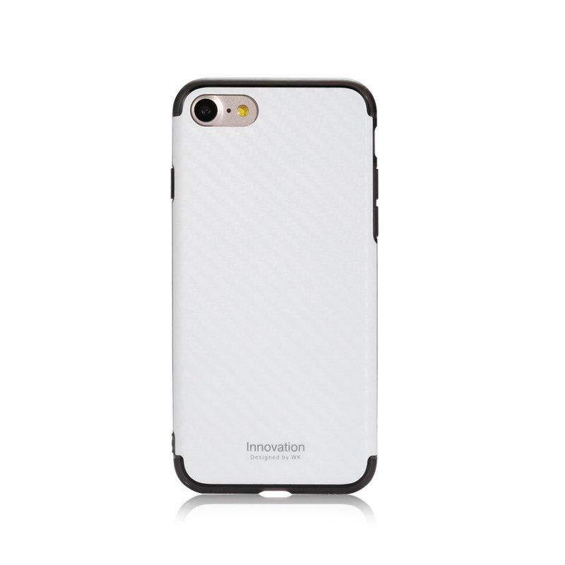 Пластиковый чехол WK Roxy белый для iPhone 8 Plus/7 Plus