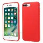 Силиконовый чехол Coteetci Silicone красный для iPhone 8 Plus/7 Plus