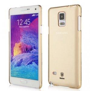 Чехол Baseus Sky Case золотой для Samsung Galaxy Note 4