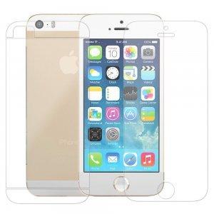 Набор защитных пленок для Apple iPhone 5/5S - Poukim матовый