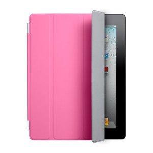 Чехол-обложка на экран для Apple iPad 2/3/4 - Smart Case розовый