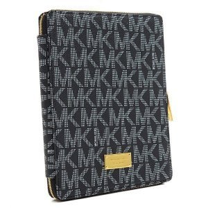 Чехол-книжка для Apple iPad 2/3/4/iPad Air - Michael Kors Design серый