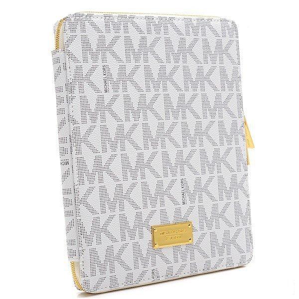 Чехол-книжка для Apple iPad 2/3/4/iPad Air - Michael Kors Design белый