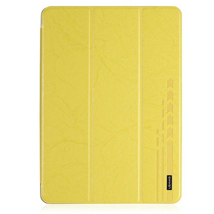 Чехол USAMS U-Clothes желтый для iPad Air/iPad (2017/2018)
