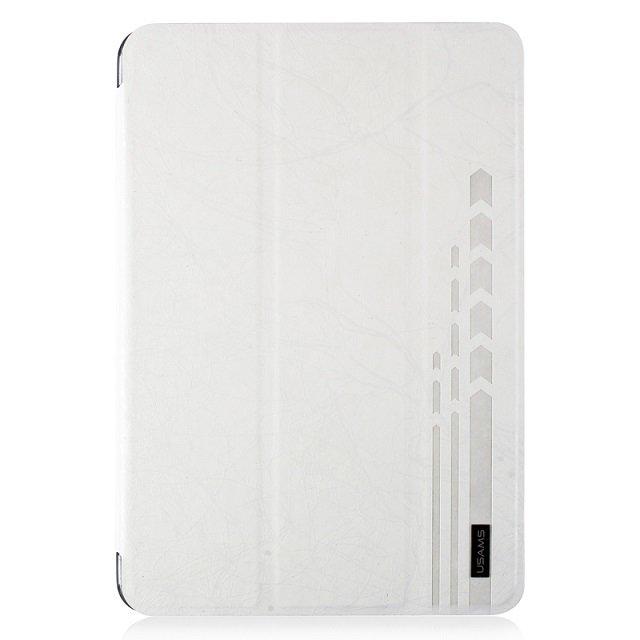 Чехол-книжка для Apple iPad mini Retina - USAMS U-Clothes белый