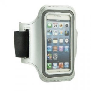 Чехол на бицепс Sports Armband Waterproof белый для iPhone 4/4S