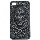 3D чехол Stylish 3D Skull черный для iPhone 4/4S