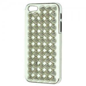 3D чехол Cool Stud 3D Goth Designer Diamante белый для iPhone 5/5S/SE