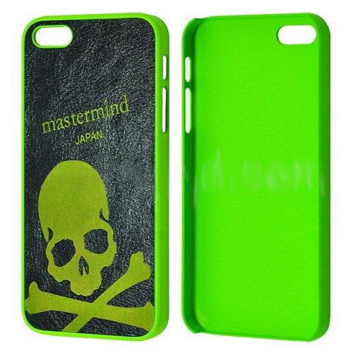 Чехол с рисунком Mastermind Frosted Crossbones зеленый + черный для iPhone 5/5S/SE