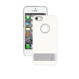 Чехол с подставкой Moshi Ultra-thin белый для iPhone 5/5S/SE