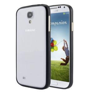 Чехол-бампер для Samsung Galaxy S4 - Rabito черный
