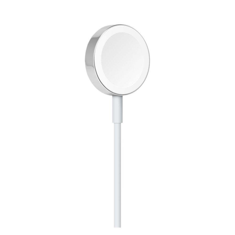 Кабель с магнитным креплением для зарядки Apple Watch белый (MKLG2AM)
