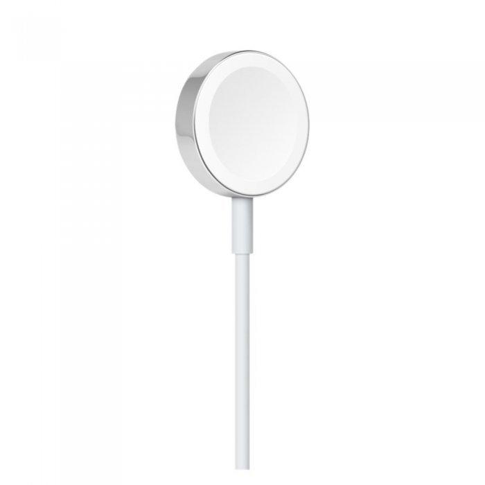 Кабель с магнитным креплением для зарядки Apple Watch белый (MKLG2)
