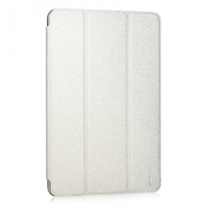 Чехол-книжка для Apple iPad mini 4 - Devia Light Grace белый