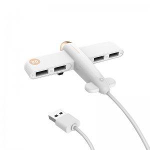 USB хаб 3Life Airplane белый