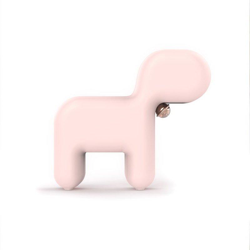 Ночник 3Life Dog розовый