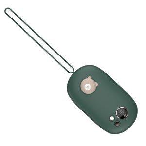 Грелка для рук + дополнительный аккумулятор 3Life Tie Tie Pet зелёная