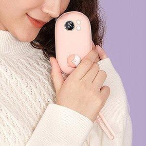 Грелка для рук + дополнительный аккумулятор 3Life Tie Tie Pet розовая