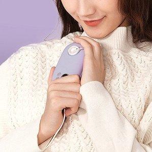 Грелка для рук + дополнительный аккумулятор 3Life Tie Tie Pet фиолетовая