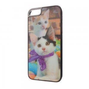 Чехол-накладка для Apple iPhone 5/5S - 3d Effect Cat