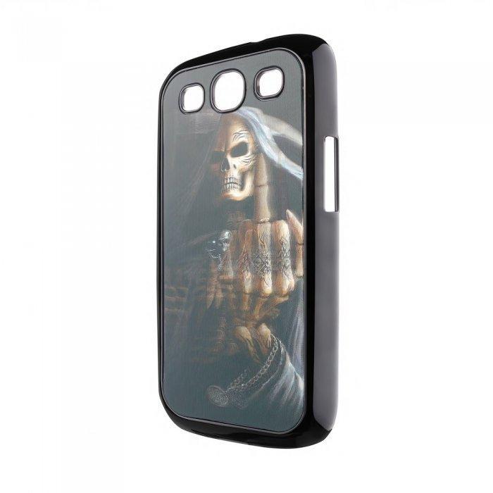 Чехол-накладка для Samsung Galaxy S3 - 3d Effect с рисунком Death F..k