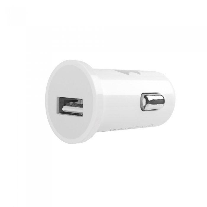 Автомобильное зарядное устройство для Apple iPhone/iPod 1A белое