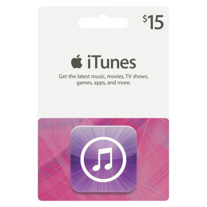 Apple Gift Card 15$ US