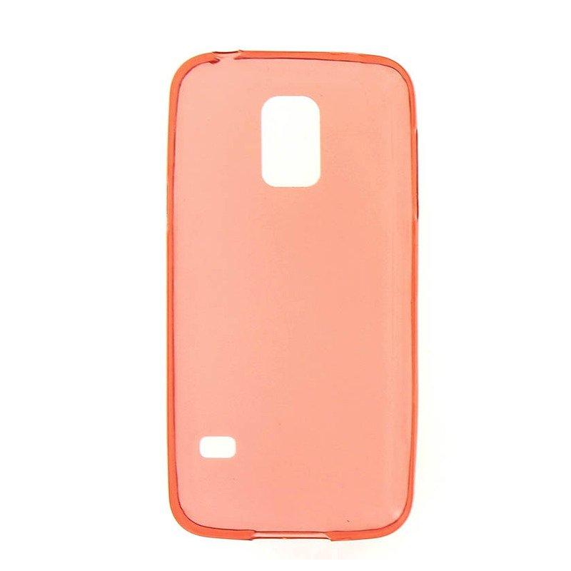 Чехол-накладка для Samsung Galaxy S5 mini - 0.3мм красный