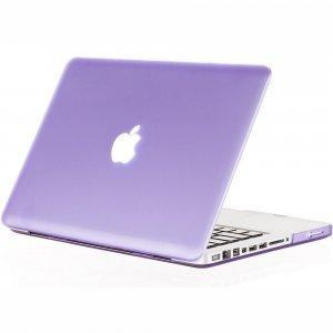 "Чехол-накладка для Apple MacBook Pro 13"" - Kuzy Rubberized Hard Case светло-фиолетовый"