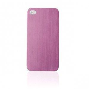 Металлический чехол NewCase Ultra Thin розовый для iPhone 5/5S/SE