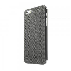 Чехол-накладка для Apple iPhone 5/5S - New Case Ultra Thin Perforated черный